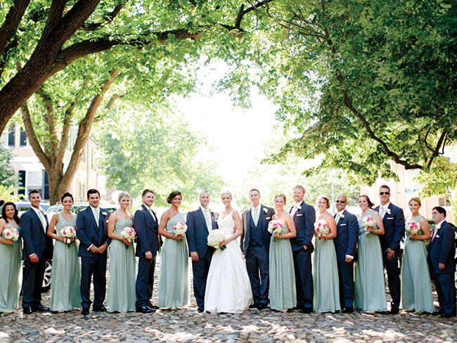 WeddingWednesday Selecting The Wedding Party