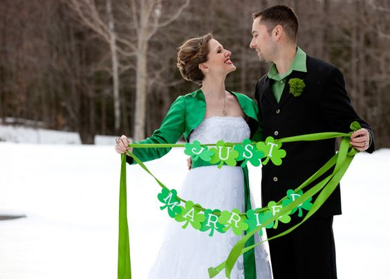 Saint Patrick's Day Wedding