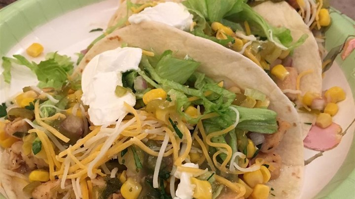 #MenuMonday: Lime Chicken Soft Tacos